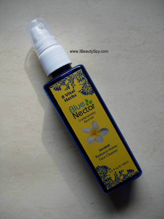 blue_nectar_honey_paraben_free_facial_cleanser
