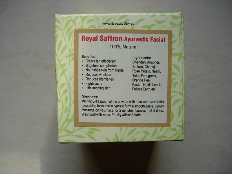matru_ayurveda_saffron_facial_ingredients