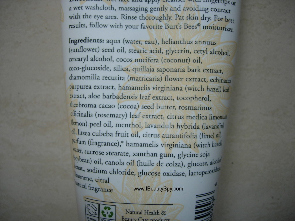 burt_bees_deep_cleanser_ingredients