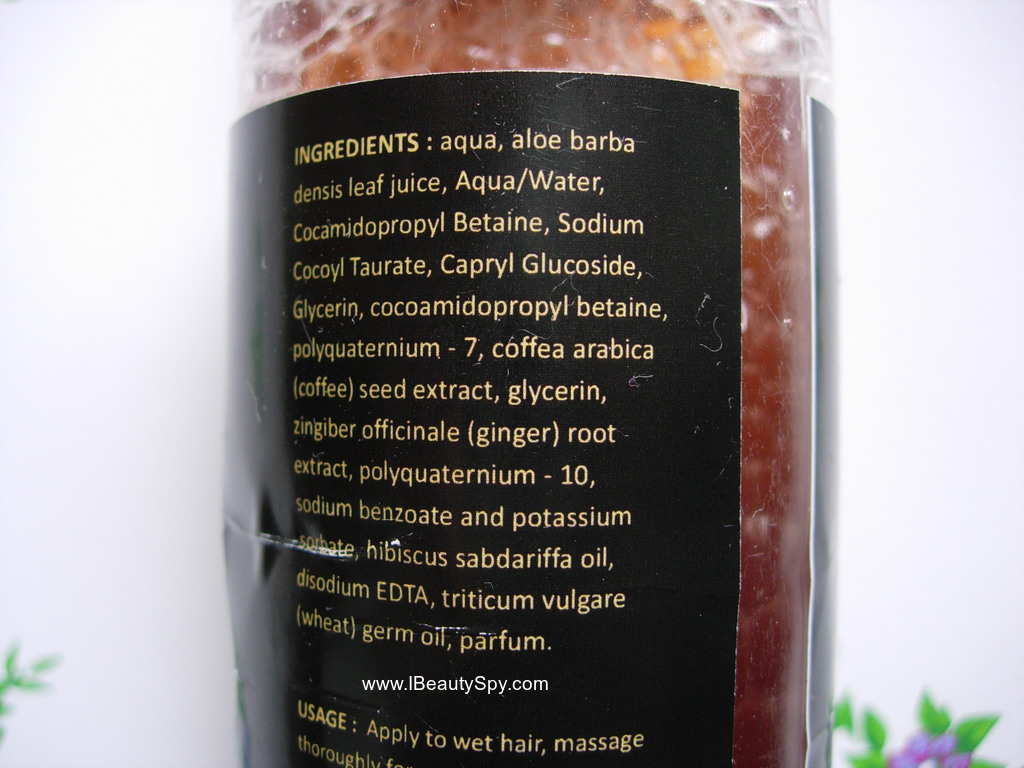 tvakh_coffee_ginger_shampoo_ingredients