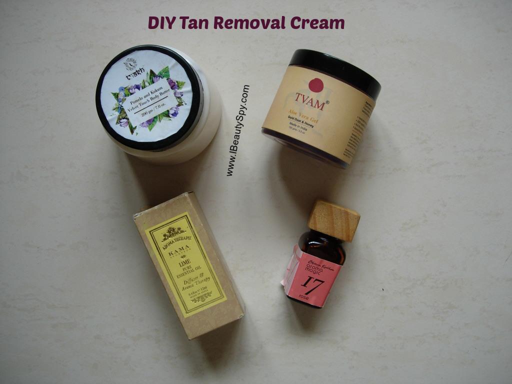 DIY_tan_removal_cream