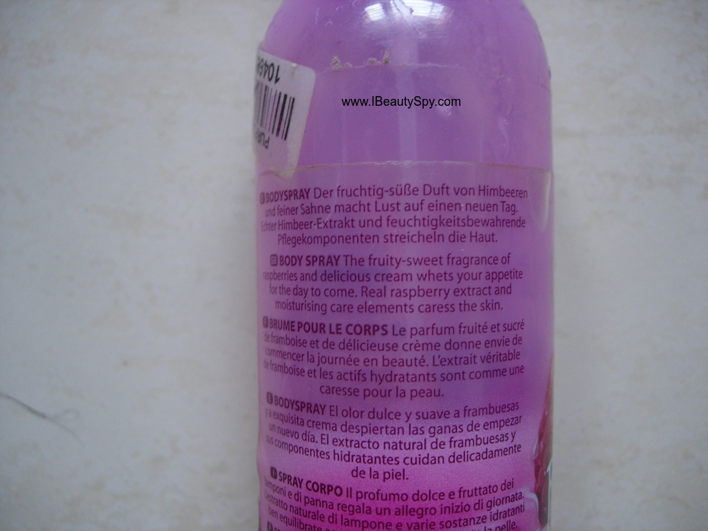 fruttini_raspberry_cream_body_spray_claims