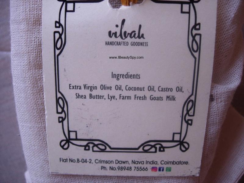 vilvah_handmade_goats_milk_soap