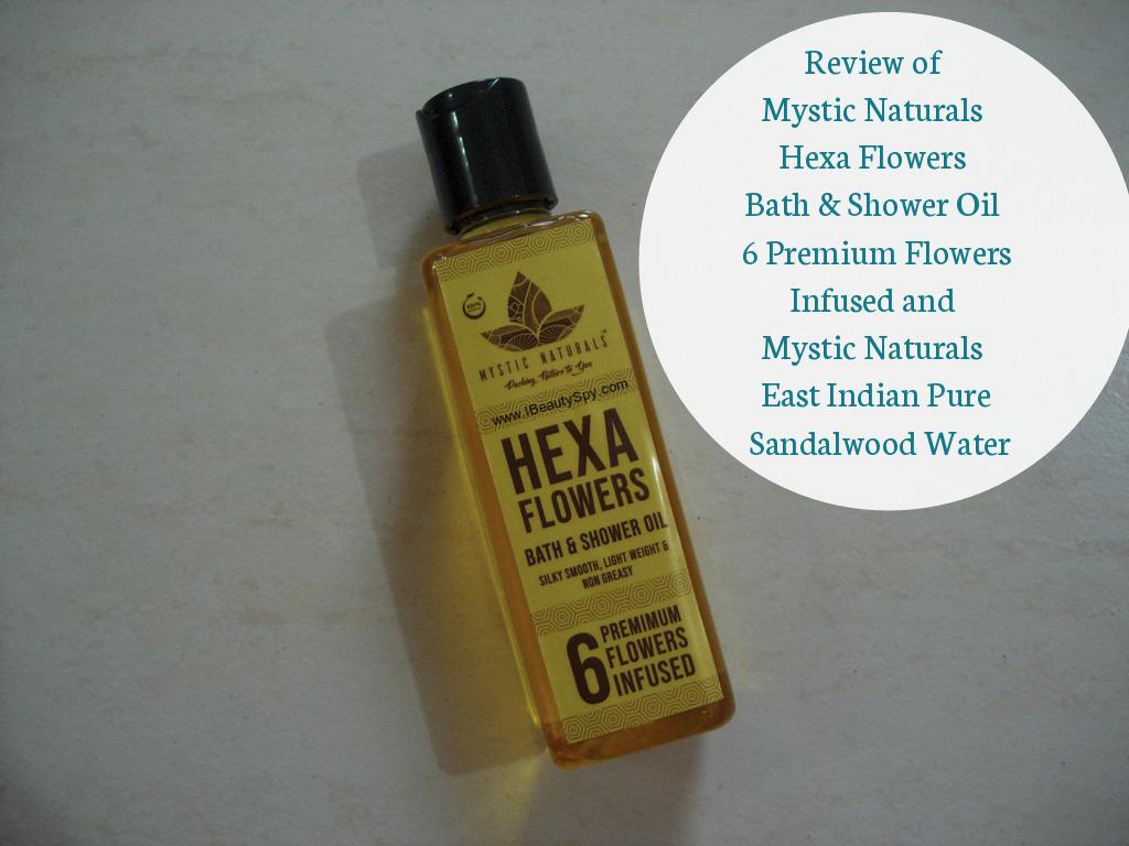 Review of Mystic Naturals Hexa Flowers Bath & Shower Oil 6